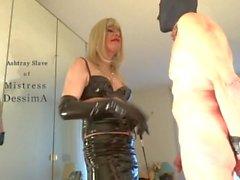 Пепельницы рабыней любовнице DessimA ( MissDess )