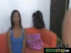 Spicy interracial lesbian porn video 20
