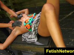 FetishNetwork Marina Angel bdsm teen sex