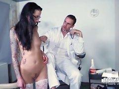 BadTime Stories - German BDSM fun with naughty MILF nurse Stella Star