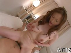 asian chick showing off huge boobs feature film 1