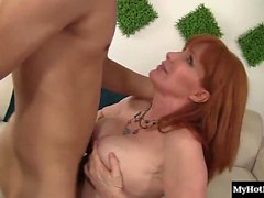 Freya Fantasia is a horny MILF who has had her eyes set on