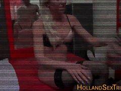 Dutch hookers stiff fuck