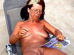 elodie a la plage