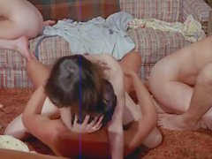 6 Person Classic Orgy with Herschel Savage