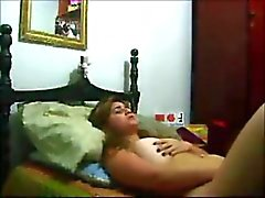 Hot arab girl plays with pussy