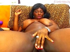 Dark Skin beauty toys herself