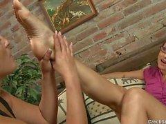 Czech sexy feet - Andrea