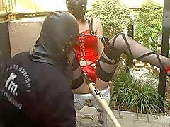 jpn masked woman loves big one