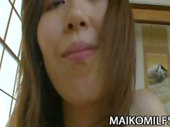 Shiho Tanimura - JAV HouseWife Cum Her Vücut Üzerine Splurged