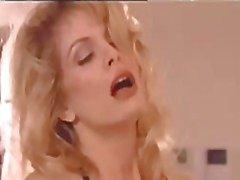 Classic star Tiffany Million having vintage hardcore sex