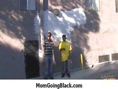 White Milf Rides Black Monster Dick 17