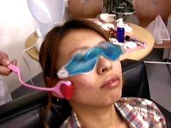 Applying sperm instead cream (Camaster)