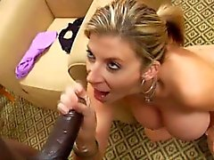 Milf Saran Jay Sucks Big Cock