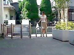 Japonês Cougar Stalked Uncensored