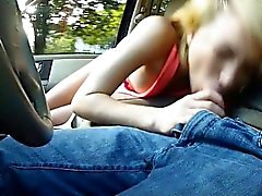 Skinny teen Dakota Skye nailed by stranger inside his car