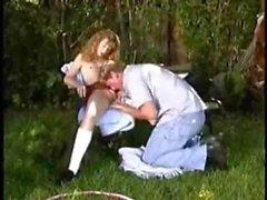 STP7 Molly Enjoys A Good Hard Fuck In The Garden !