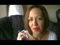 Red lipstick & smoking