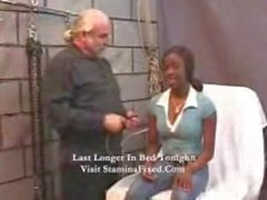 Intense Interracial Fetish Black Bondage