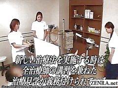 Tekstitettyjä CFNM japanilaisten siittimen terveysklinikka seminaarissa