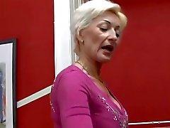Blonde Granny Fucking by TROC