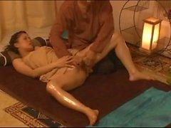 Thai massage - Horny slut teased leaking lots NHDTA-319 scene 2