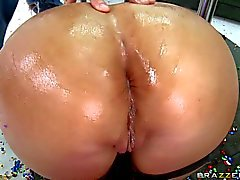 Mason Moore takes heavy cock in her butthole