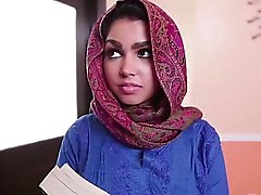 Tetona adolescente árabe de de Ada se la follan duro