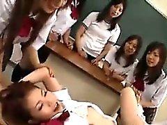 Asian Schoolgirl Fucked In The Classroom