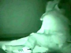 Ночью Секс на публике вуайерист
