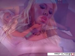 FirstClassPOV - Summer Brielle chupar um pau grande, peitos grandes e espólio grande