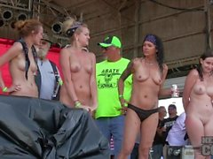 abate of iowa 2014 sporty hot chick wet tshirt contest