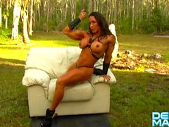 Denise Masino - Exclusive Muscle Photos and Videos! Female Bodybuilder