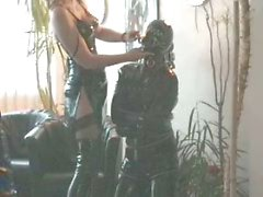 helpless rubberslave