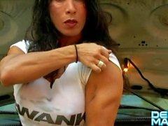 Denise Masino - Under the hood - Female Bodybuilder