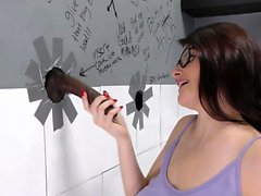 Michele James Loves Big Black Cock - Gloryhole