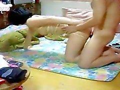 la mujer coreana bondage mierda