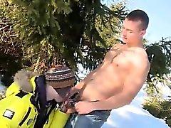 БЕСПЛАТНО потоковое гей-порно видеоклипы первое время снег Кролики Анальное