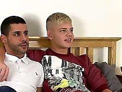 Gay klipp med Alex försilvrar And Jack master