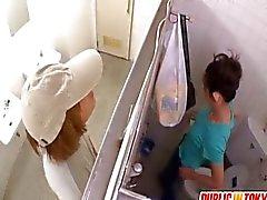 Bir Surprise Doggy Style Tuvalet Siktir