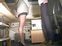 çorap Sekreter spanked