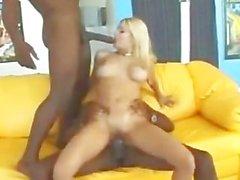 Carmen Luvana in threesome with ManDingo
