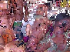 Big booty orgy XXX