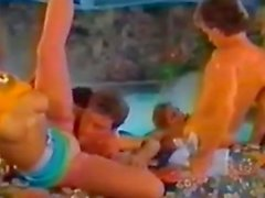 Hot Orgy In The Pool Classic