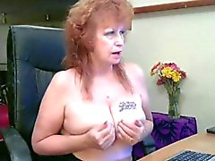 Granny show webcam