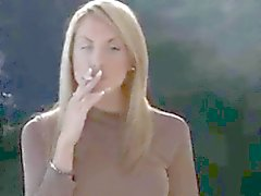 Emily and her all whites smoking