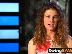 Cute Girlfriend Opens Up About Playboy TV Swing Season