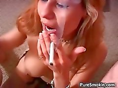 Slutty Justine gets covered in sperm part1