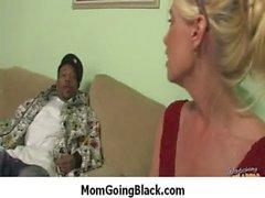 White Milf Rides Black Monster Dick 3