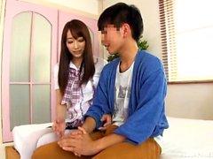 Amateur japanese asian slut blindfolded and played hardcore